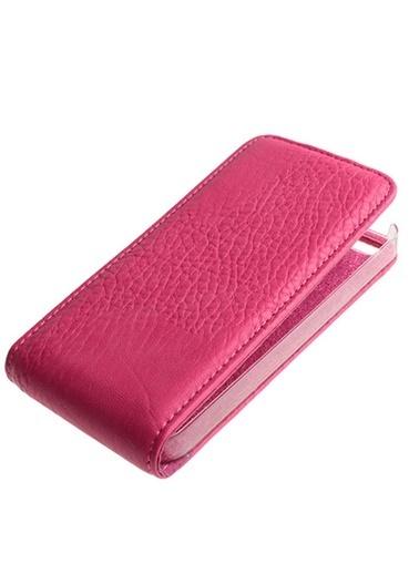 Samsung Samsung Iphone Se/5S/5 Uyumlu Dik Mıknatıslı IÇi Şeffaf Deri Telefon Kılıfı Renkli